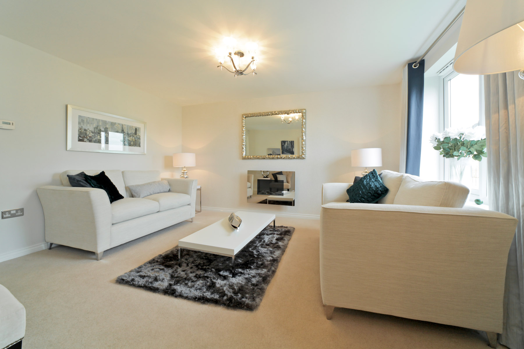Gwel An Hay Gosford example living room